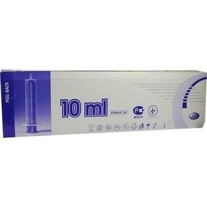 SPRITZE 10 ml 2teilig Luer exzentrisch