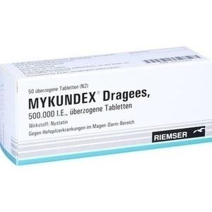 MYKUNDEX überzogene Tabletten