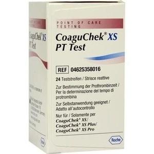 COAGUCHEK XS PT Test