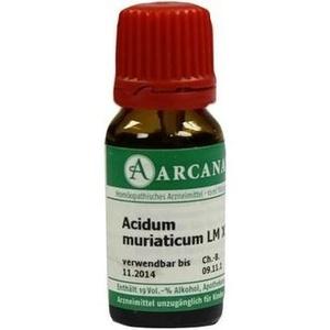 ACIDUM MURIATICUM LM 18 Dilution