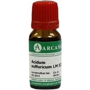 ACIDUM SULFURICUM LM 12 Dilution