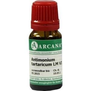 ANTIMONIUM TARTARICUM LM 6 Dilution