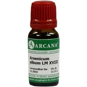 ARSENICUM ALBUM LM 18 Dilution