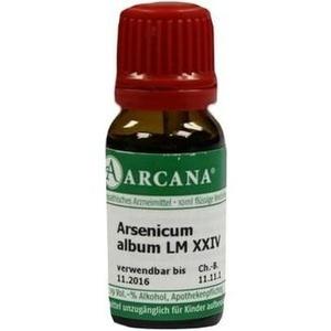 ARSENICUM ALBUM LM 24 Dilution