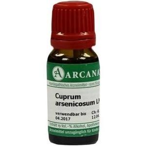 CUPRUM ARSENICOSUM LM 6 Dilution