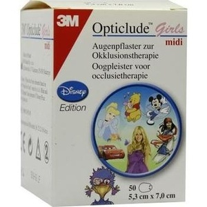 OPTICLUDE 3M Disney girls midi 2538MDPG-50