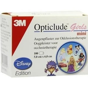 OPTICLUDE 3M Disney girls mini 2537MDPG-100