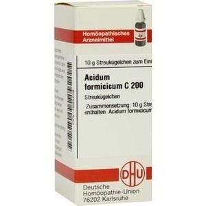 ACIDUM FORMICICUM C 200 Globuli