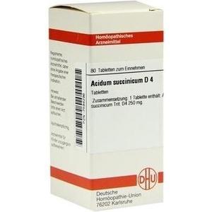 ACIDUM SUCCINICUM D 4 Tabletten