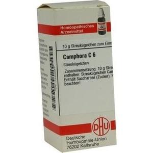 CAMPHORA C 6 Globuli