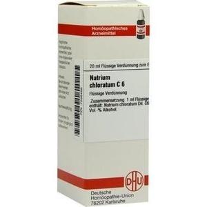 NATRIUM CHLORATUM C 6 Dilution