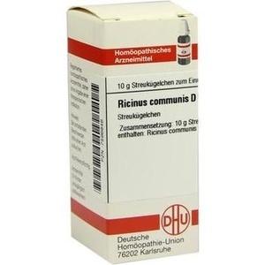 RICINUS COMMUNIS D 6 Globuli