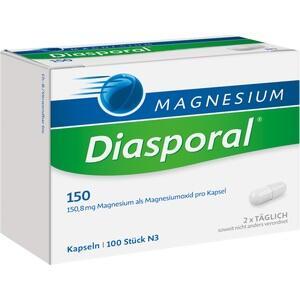 MAGNESIUM DIASPORAL 150 Kapseln