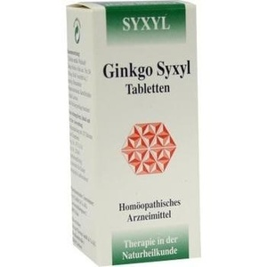 GINKGO SYXYL Tabletten