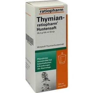 thymian ratiopharm hustensaft sirup 100 ml preisvergleich. Black Bedroom Furniture Sets. Home Design Ideas