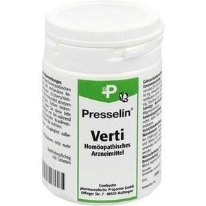 PRESSELIN Verti Tabletten
