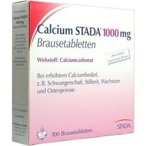 CALCIUM STADA 1000 Brausetabletten