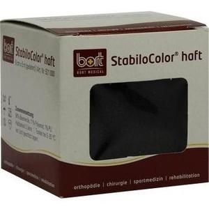 BORT StabiloColor haft Binde 6cm schwarz
