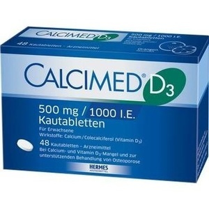 CALCIMED D3 500 mg/1000 I.E. Kautabletten