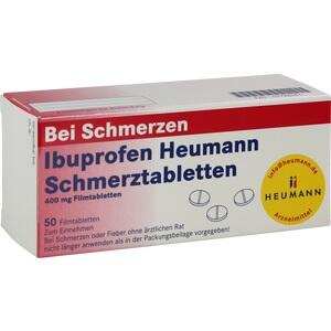 Ibuprofen Heumann Schmerztabletten 400mg Filmtabl.  Filmtabletten