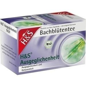 H&S Bachblueten Ausgeglichenheits Tee