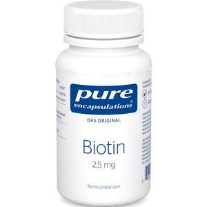 PURE ENCAPSULATIONS Biotin 2,5 mg Kapseln