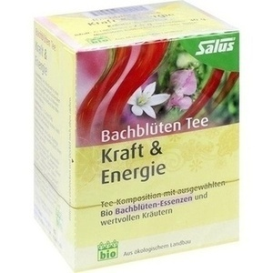 BACHBLÜTEN Tee Kraft & Energie Bio Salus Fbtl.