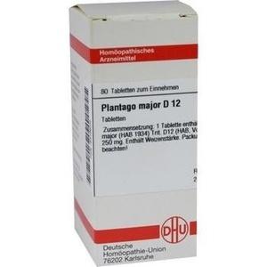 PLANTAGO MAJOR D 12 Tabletten