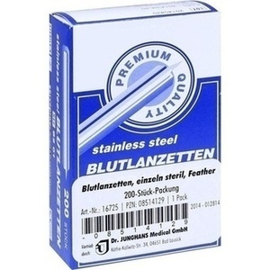 BLUTLANZETTEN steril Feather einzeln