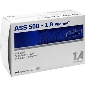 ASS 500 1A Pharma Tabletten