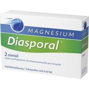 MAGNESIUM DIASPORAL 2 mmol Ampullen