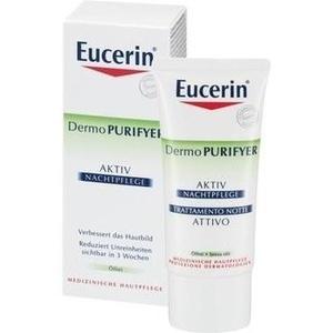 Eucerin® Dermo Purifyer Aktiv Nachtpflege Creme