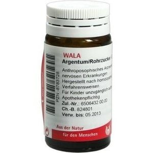 WALA ARGENTUM/ROHRZUCKER Globuli