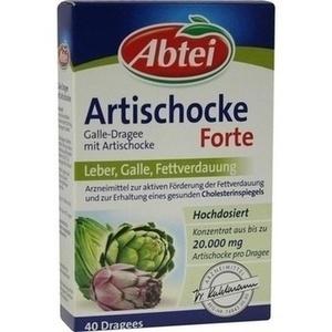 ABTEI Galle-Dragee mit Artischocke