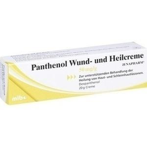 PANTHENOL Wund- und Heilcreme Jenapharm