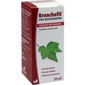BRONCHOFIT Efeu-Hustentropfen Flüssigk.z.Einnehmen