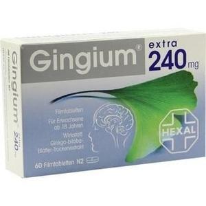 Gingium® extra 240 mg Filmtabletten
