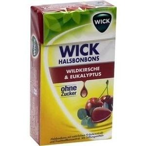 WICK Wildkirsche & Eukalyptus Bonbons o.Zucker