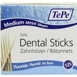 TEPE Zahnhölzer mittel m.Fluorid