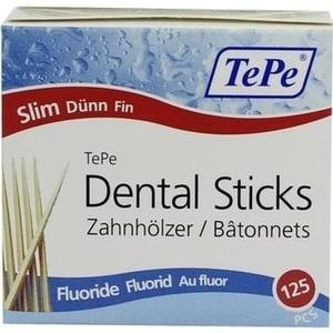 TEPE Zahnhölzer dünn m.Fluorid