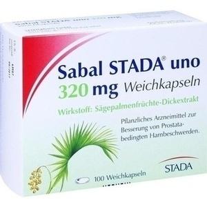 SABAL STADA uno 320 mg Weichkapseln