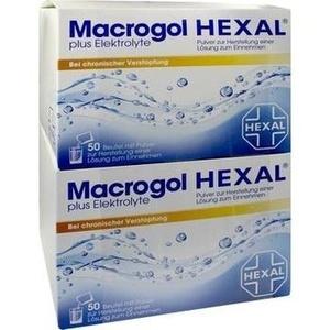 MACROGOL HEXAL plus Elektrolyte Plv.z.H.e.L.z.E.