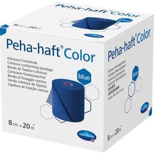 PEHA-HAFT Color Fixierbinde latexf.8 cmx20 m blau