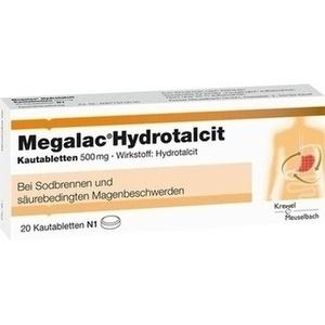 MEGALAC Hydrotalcit Kautabletten