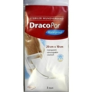 DRACOPOR waterproof Wundverband 10x20 cm steril