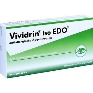 Abbildung von Vividrin Iso Edo Antiallergische Augentropfen