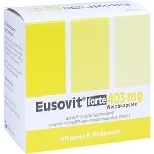 EUSOVIT forte 403 mg Weichkapseln