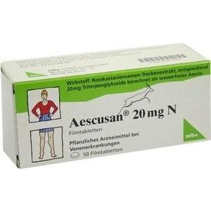 AESCUSAN 20 mg N Filmtabletten