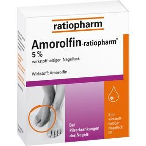 AMOROLFIN-ratiopharm 5% wirkstoffhalt.Nagellack