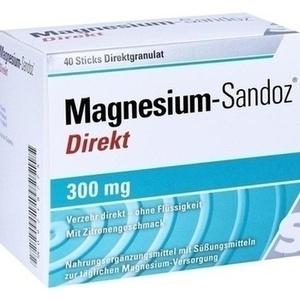 Magnesium Sandoz Direkt 300 mg Pellets